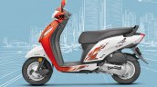 Honda Activa i BSIV studio orange