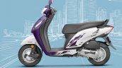 Honda Activa i BSIV studio purple