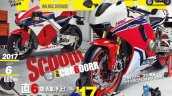 Honda CBR600RR facelift rendering Young Machines