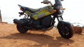Honda Navi Goa Hunt Adventure front profile sea