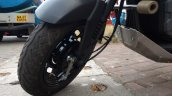Honda Navi Goa Hunt Adventure front wheel
