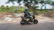 Honda Navi Goa Hunt Adventure side motion rear
