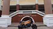 Honda Navi Goa Hunt Adventure side orange