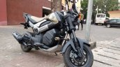Honda Navi Goa hunt front three quarter Adventure profile