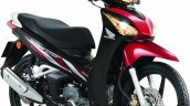 Honda Wavi 125i Malaysia launch studio front three quarter red