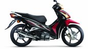 Honda Wavi 125i Malaysia launch studio side red