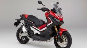Honda X-ADV Victory Red front three quarter studio