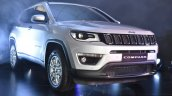 India-made Jeep Compass front close unveiled