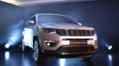 India-made Jeep Compass front quarter right unveiled