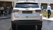India-made Jeep Compass rear unveiled