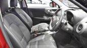 MG3 front seats at 2017 Bangkok International Motor Show