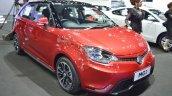 MG3 front three quarters at 2017 Bangkok International Motor Show