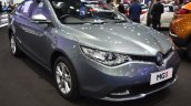 MG5 sedan front three quarters right side at 2017 Bangkok International Motor Show