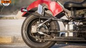 Maruti 800 Trailblazer custom motorcycle rear tyre