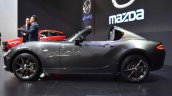 Mazda MX-5 RF left side at 2017 Bangkok International Motor Show