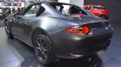 Mazda MX-5 RF rear three quarters left side at 2017 Bangkok International Motor Show