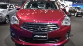 Mitsubishi Attrage front at 2017 Bangkok International Motor Show
