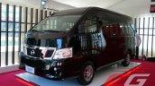 Nissan Urvan Premium Philippines launch front three quarter left