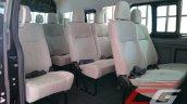 Nissan Urvan Premium Philippines launch seats