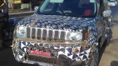 RHD Jeep Renegade Indian grille test vehicle