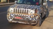 RHD Jeep Renegade front Indian test vehicle
