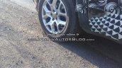 RHD Jeep Renegade wheel Indian test vehicle