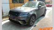Range Rover Velar front three quarters spy shot