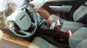 Range Rover Velar interior spy shot
