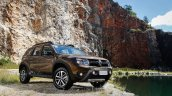 Renault Duster Dakar II edition front three quarter launched in Brazil
