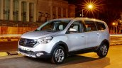 Renault Lodgy Stepway front three quarter First Drive Review