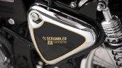 Royal Enfield Bullet 350 Moltar Scrambler by Thrive Motorcycle badging