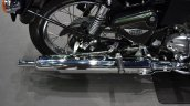 Royal Enfield Bullet 500 Forest Green at BIMS 2017 exhaust