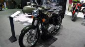 Royal Enfield Bullet 500 Forest Green at BIMS 2017 front three quarter