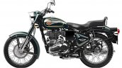 Royal Enfield Bullet 500 Forest Grey side left studio
