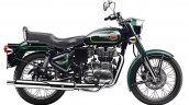 Royal Enfield Bullet 500 Forest Grey side right studio
