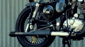 Royal Enfield Classic 350 Bobber Jedi Customs exhaust