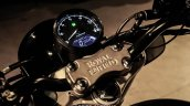 Royal Enfield Classic 350 Brat Bobber by Grid 7 Customs instrumentation