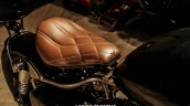 Royal Enfield Classic 350 Brat Bobber by Grid 7 Customs seat