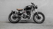 Royal Enfield Classic 350 Brat Bobber by Grid 7 Customs side right
