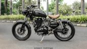 Royal Enfield Classic 350 Brat Bobber by Grid 7 Customs side