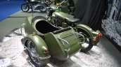Royal Enfield Classic 500 sidecar at BIMS 2017 rear three quarter