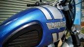 Royal Enfield Classic Maverick Scrambler by Dochaki side fuel tank