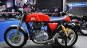 Royal Enfield Continental GT Red at BIMS 2017 side