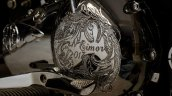 Royal Enfield Electra 350 Jasper by Eimor Customs crankcase cover