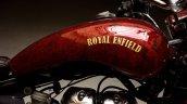 Royal Enfield Electra 350 Jasper by Eimor Customs fuel tank side