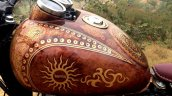 Royal Enfield Thunderbird 350 Karma by Puranam Designs fuel tank side