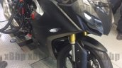 TVS Akula 310 front three quarter spyshot headlamp off