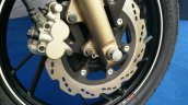 TVS Apache RTR 200 track experience at MMRT front disc