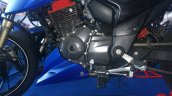 TVS Apache RTR 200 track experience at MMRT fuel knok and gear lever
