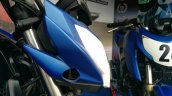 TVS Apache RTR 200 track experience at MMRT headlamp